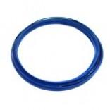 Трубка D 6 x 1,0 (сталь) в синей пластиковой оплетке, бухта 50 м, Emer